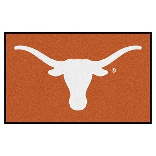 Fanmats Machine-Made University of Texas Orange Nylon Ulti-Mat (5' x 8')