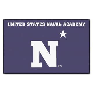 Fanmats Machine-Made US Naval Academy Blue Nylon Ulti-Mat (5' x 8') https://ak1.ostkcdn.com/images/products/10116939/P17256074.jpg?impolicy=medium