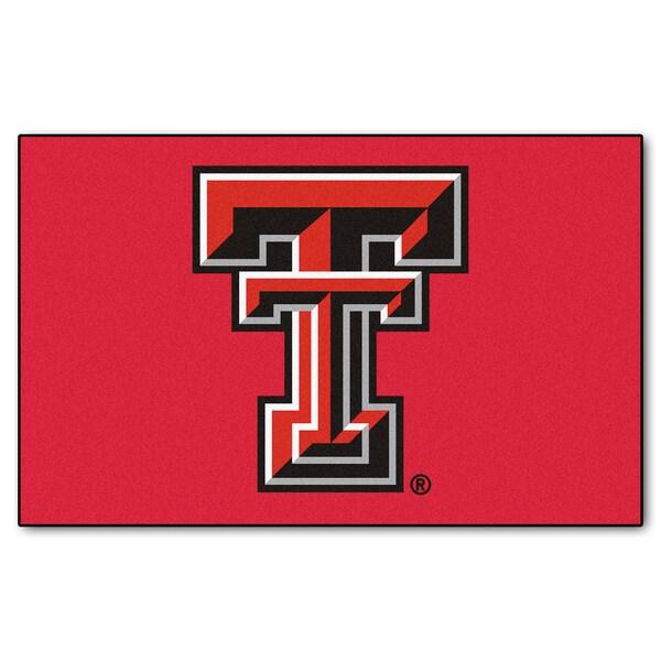 Fanmats Machine-Made Texas Tech University Red Nylon Ulti-Mat (5' x 8')