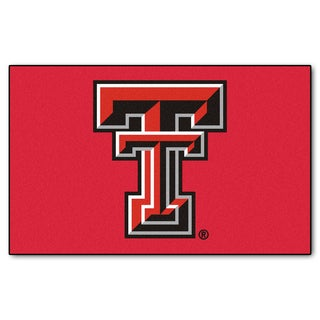Fanmats Machine-Made Texas Tech University Red Nylon Ulti-Mat (5' x 8')