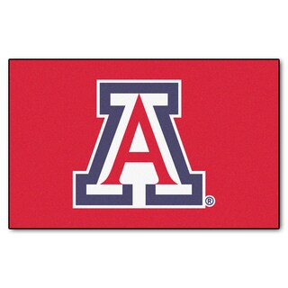 Fanmats Machine-Made University of Arizona Red Nylon Ulti-Mat (5' x 8')