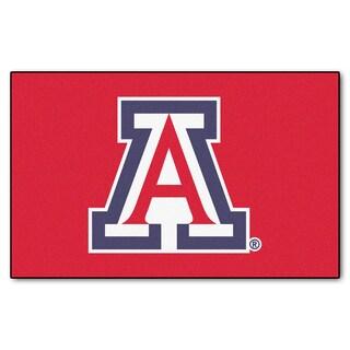 Fanmats Machine-Made University of Arizona Red Nylon Ulti-Mat (5' x 8')