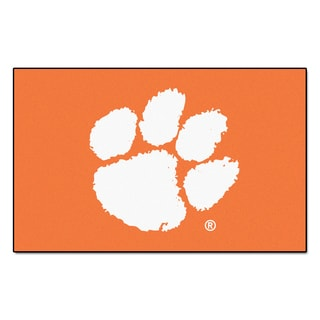 Fanmats Machine-Made Clemson University Orange Nylon Ulti-Mat (5' x 8')