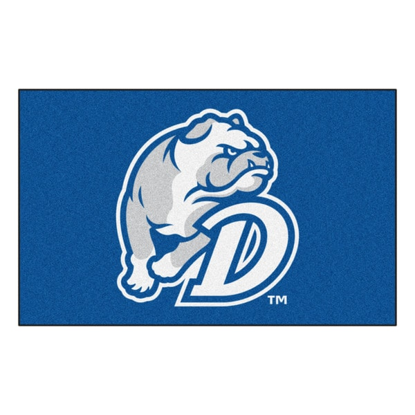 Fanmats Machine-Made Drake University Blue Nylon Ulti-Mat (5' x 8')