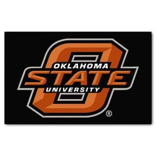 Fanmats Machine-Made Oklahoma State University Black Nylon Ulti-Mat (5' x 8') https://ak1.ostkcdn.com/images/products/10116967/P17256098.jpg?impolicy=medium