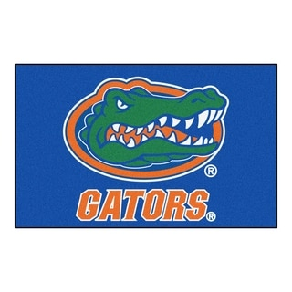 Fanmats Machine-Made University of Florida Blue Nylon Ulti-Mat (5' x 8')