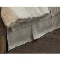 Radley Herringbone Linen 18-inch Drop Bed Skirt