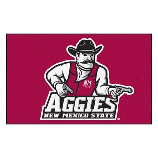 Shop Fanmats Machine Made New Mexico State University Red
