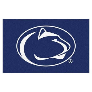 Fanmats Machine Made Penn State Blue Nylon Ulti Mat 5 X 8