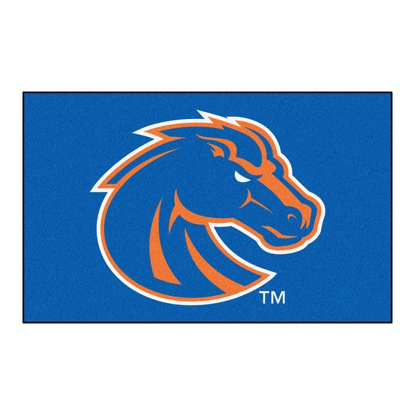 Fanmats Machine-Made Boise State University Blue Nylon Ulti-Mat (5' x 8')