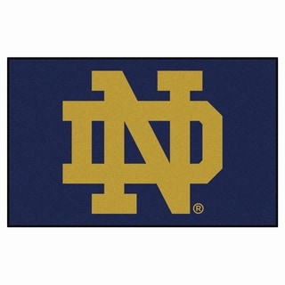 Fanmats Machine-Made Notre Dame Blue Nylon Ulti-Mat (5' x 8')