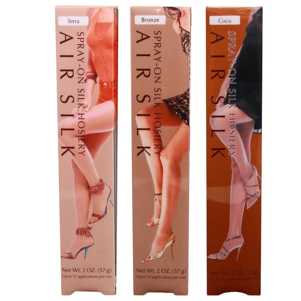 Air Silk Spray-On Hosiery (Pack of 2)