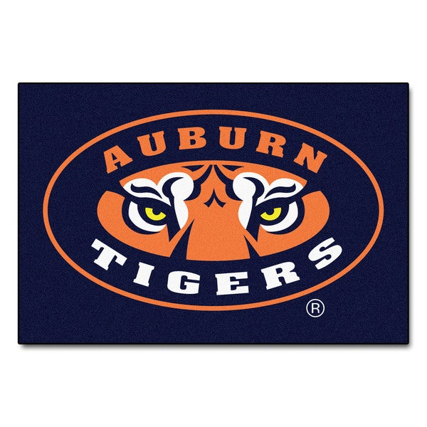 Fanmats Machine-Made Auburn Tigers Blue Nylon Ulti-Mat (5' x 8')