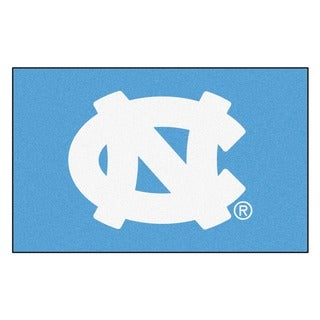 Fanmats Machine-Made University of North Carolina - Chapel Hill Blue Nylon Ulti-Mat (5' x 8')