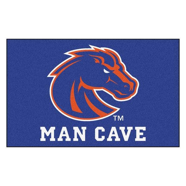 Fanmats Machine-Made Boise State University Blue Nylon Man Cave Ulti-Mat (5' x 8')