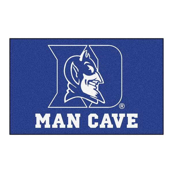 Fanmats Machine-Made Duke University Blue Nylon Man Cave Ulti-Mat (5' x 8')