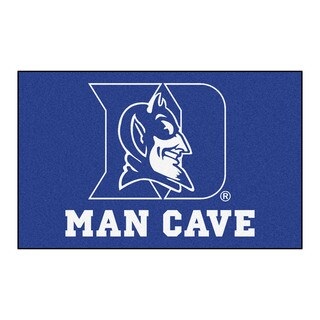 Fanmats Machine-Made Duke University Blue Nylon Man Cave Ulti-Mat (5' x 8')