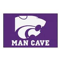 Fanmats Machine-Made Kansas State University Purple Nylon Man Cave Ulti-Mat (5' x 8')