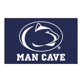 Fanmats Machine-Made Penn State Blue Nylon Man Cave Ulti-Mat (5' x 8')