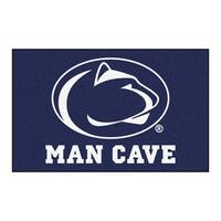 Fanmats Machine-Made Penn State Blue Nylon Man Cave Ulti-Mat (5' x 8')
