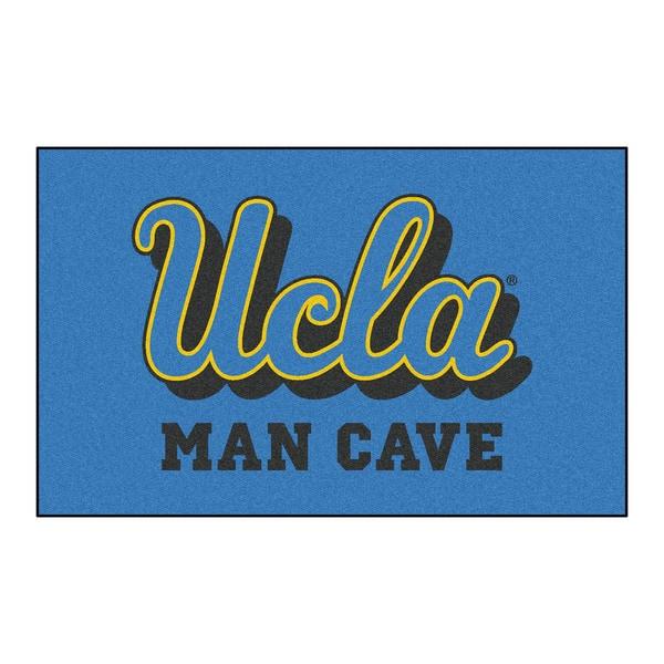 Fanmats Machine-Made UCLA Blue Nylon Man Cave Ulti-Mat (5' x 8')