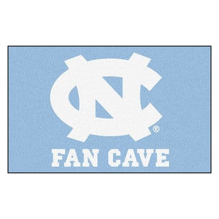 Fanmats Machine-Made University of North Carolina - Chapel Hill Blue Nylon Man Cave Ulti-Mat (5' x 8')