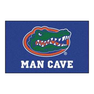 Fanmats Machine-Made University of Florida Blue Nylon Man Cave Ulti-Mat (5' x 8')