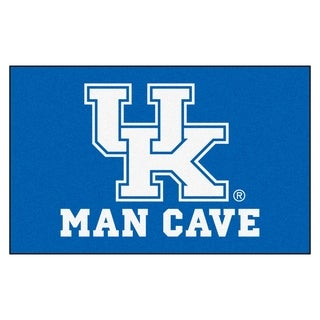 Fanmats Machine-Made University of Kentucky Blue Nylon Man Cave Ulti-Mat (5' x 8')