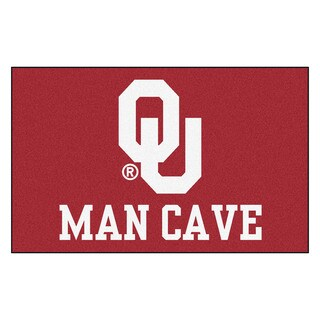 Fanmats Machine-Made University of Oklahoma Red Nylon Man Cave Ulti-Mat (5' x 8')