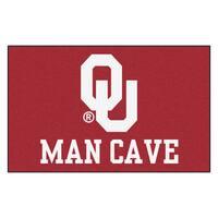 Fanmats Machine-Made University of Oklahoma Red Nylon Man Cave Ulti-Mat (5' x 8')