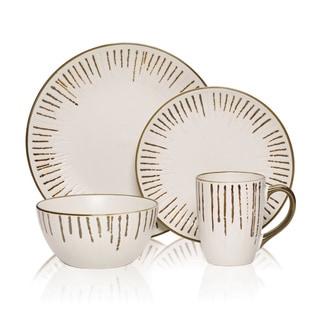 Gourmet Basic Delancey 16-piece Dinnerware Set