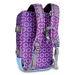 JWorld New York J Logo Duncan 19-inch 3-way Weekender Duffel/ Backpack