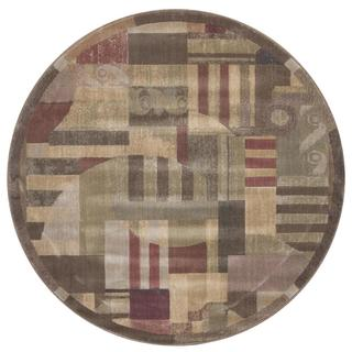 Rug Squared Fenwick 0Ulticolor Rug (5'6 x Round)