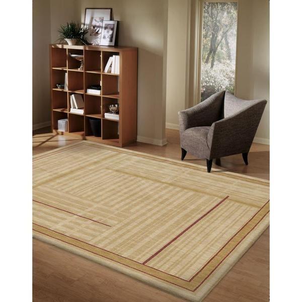 Rug Squared Fenwick Gold Rug (5'3 x 7'5)