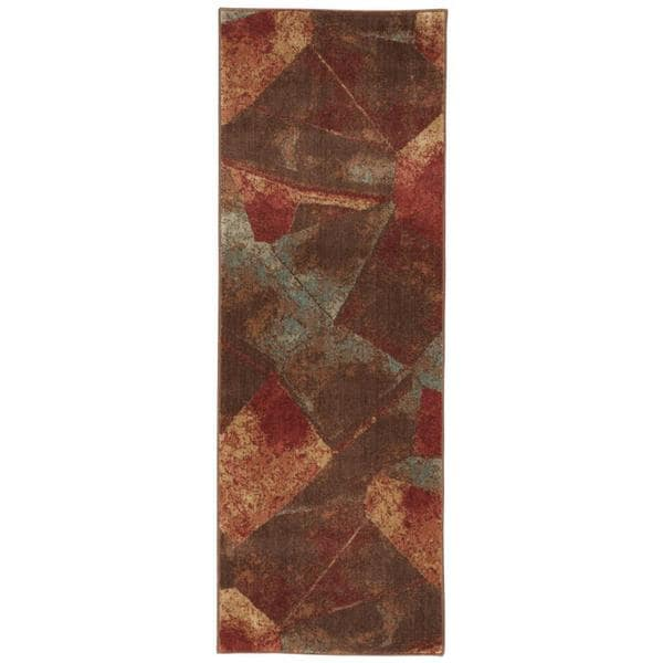 "Rug Squared Fenwick Multicolor Rug - 2' x 5'9"" Runner"