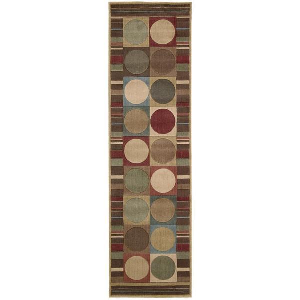 Rug Squared Fenwick Multicolor Rug - Multi-color - 2'3 x 8'