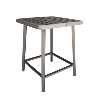Fresca Polylumber Outdoor Pub Table