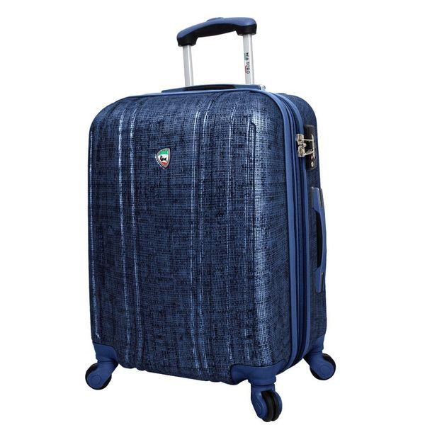 Mia Toro ITALY Macchiolina Abrasa 24-inch Lightweight Hardside Expandable Spinner Suitcase