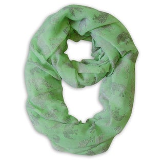 Link to Peach Couture Elephant Print Infinity Scarf Similar Items in Scarves & Wraps