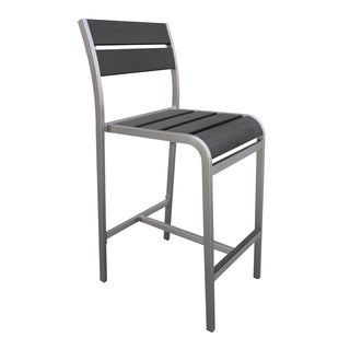 Fresca Polylumber Outdoor 29-inch Bar Stool (Set of 2)