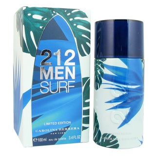 Carolina Herrera 212 Surf Men's 3.4-ounce Eau de Toilette Spray
