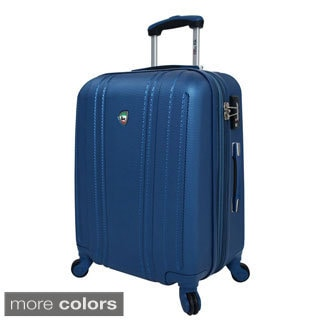 Mia Toro ITALY Perla 24-inch Lightweight Hardside Expandable Spinner Suitcase