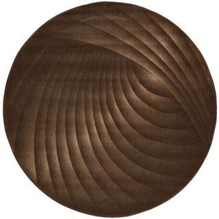 Rug Squared Fenwick Chocolate Rug (5'6 Round)