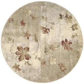Rug Squared Fenwick Multicolor Rug (5'6 Round)