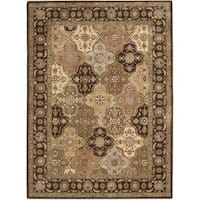 Rug Squared Fenwick Multi-colored Rug (9'6 x 13') - Multi-color