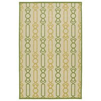 "Indoor/Outdoor Luka Gold Mod Rug - 8'8"" x 12'"