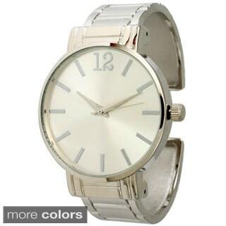 Olivia Pratt Women's Classic Cuff Bracelet Watch