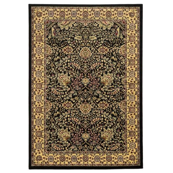 Linon Elegance Zeigler Black Rug (8' x 10')