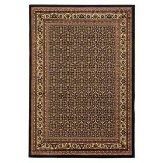 Linon Elegance Ferehan Black Rug (8' x 10')