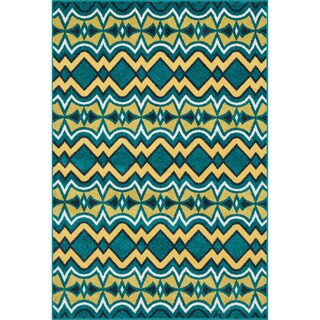 Indoor/ Outdoor Palm Peacock/ Citron Rug (9'2 x 12'1)|https://ak1.ostkcdn.com/images/products/10117843/P17256842.jpg?_ostk_perf_=percv&impolicy=medium